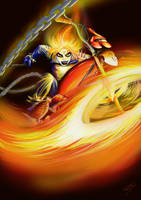 Zaibach's Ghost Rider by Nehasy