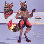 Adoptable Auction - Strawberry Wolf (OPEN) by furry-eyes
