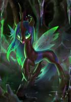 Queen Chrysalis by Celebi-Yoshi