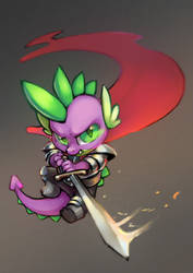 Commission: SPIKE by Celebi-Yoshi