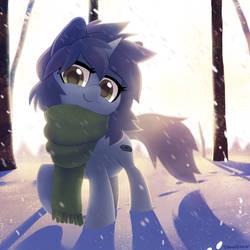 Winter YCH -- Kate by Celebi-Yoshi
