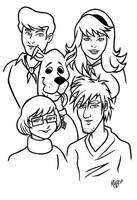 Scooby Doo by RichBernatovech