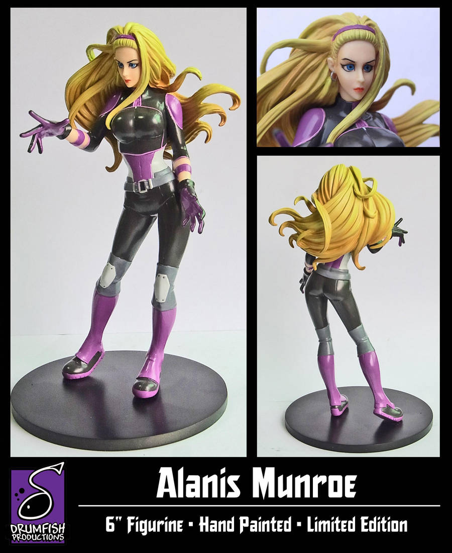 Alanis Munroe Statue Final Version by RichBernatovech