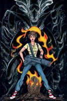 Ripley from Aliens by RichBernatovech