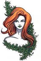 Poison Ivy Headshot6 by RichBernatovech