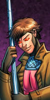 Gambit Panel Art by RichBernatovech
