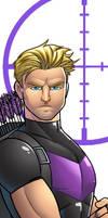 Hawkeye Panel Art by RichBernatovech