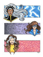X-Ladies Commission by RichBernatovech