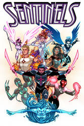 Sentinels Anthology #2 Cover by RichBernatovech