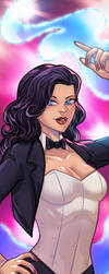 Zatanna Panel Art by RichBernatovech