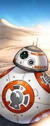 BB8 Panel Art by RichBernatovech