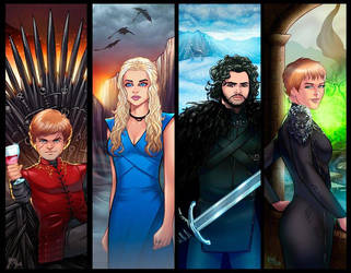 Game of Thrones Panel Grouping by RichBernatovech