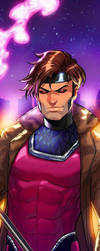 Gambit Panel Art 2 by RichBernatovech