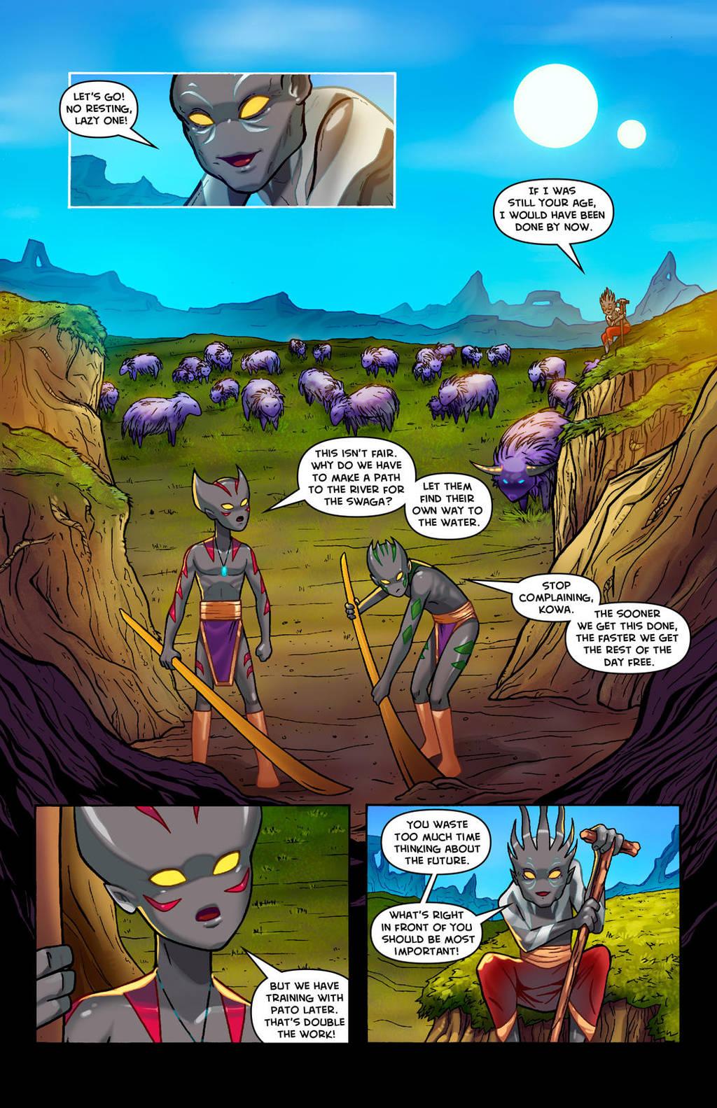 KOWA WEBCOMIC PAGE 23 by RichBernatovech