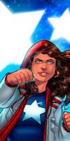 America Chavez Panel Art by RichBernatovech