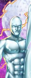 Silver Surfer Panel Art by RichBernatovech
