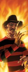 Freddy Krueger Panel Art by RichBernatovech