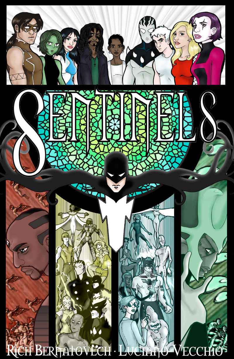 Sentinels Book 1: Footsteps by RichBernatovech