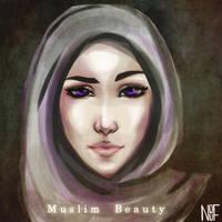 Muslim Beauty by NOUF7