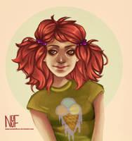 Orange Hair by NOUF7