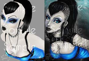 LoveLock AV Art by Robotsu