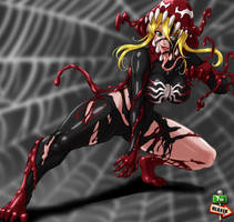 Project M4l1C3 Malice Marvel Symbiote by Chewie13579