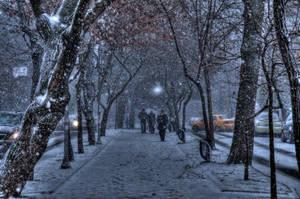 snowy istanbul 5 by utkuyzc