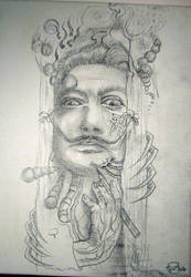 Design for my tattoo sleeve by opia