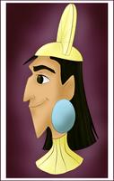 Emperor Kuzco by CartoonJessie