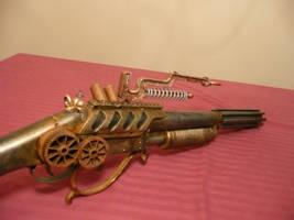 Steampunk Lightning Rifle 2 by MatthewSilva