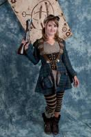 Chelsea Beller Steampunk by MatthewSilva