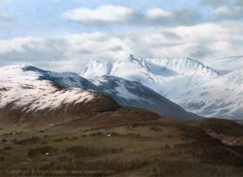Langdale Snow by Crynyd