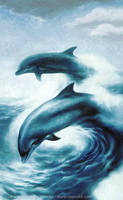 Dolphins Wave 2 by Crynyd