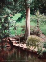 Garden in Barham by Crynyd