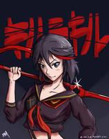 Matoi Ryuko by A-SgtMichaels