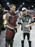 Shepard meets Joker on shore leave at MTAC. by waitingtoolong