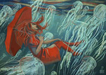 Jellyfish by Arahiriel