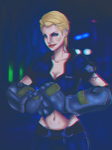 Officer Vi - League of Legends by shawbrando