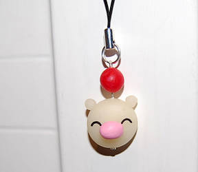 Moogle strap charm by knil-maloon