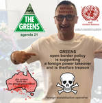 The Greens Are Foreign Agents by bufoonsnipe