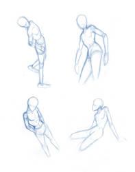 Random poses 1 by Brant-Bi