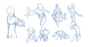 Pose Studies 8 - References from Robert Marzullo by Brant-Bi