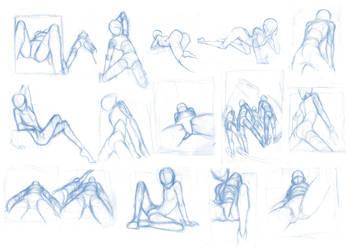 Random poses 26 (the 'dirty' sheet :v) by Brant-Bi