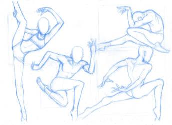 Pose Studies 29 (ballerines 3) by Brant-Bi