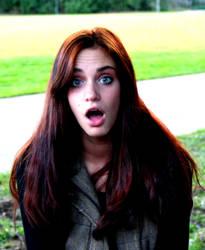 Larisa surprised by Kiota