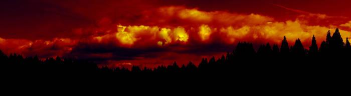 sky afire by Kiota