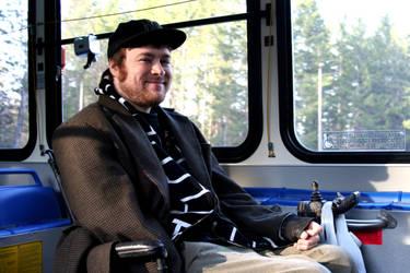 the man on the bus by Kiota