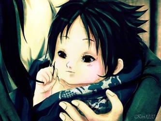 Sasuke:: Mum's black hair by kivi1230
