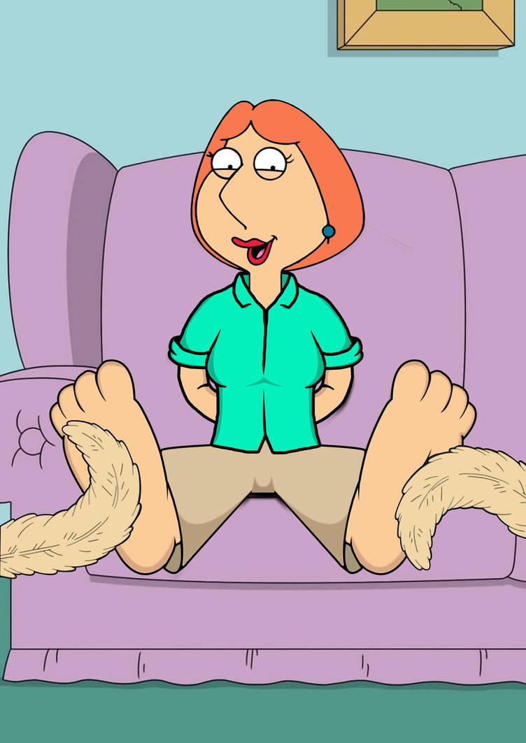 Lois Griffin tickled by Man1D