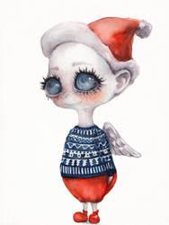 ChristmasAngel4 by oksanadimitrenko